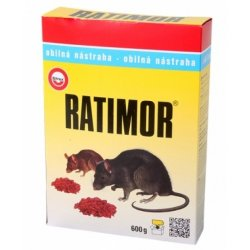 Ratimor granule 600g