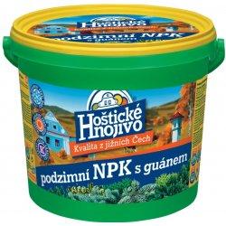 Hoštické NPK s guanámem podzimní 4,5kg