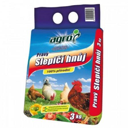Slepičí hnůj AGRO 3kg