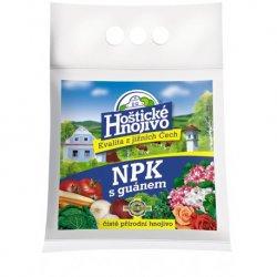 Hoštické NPK s guanámem 2,5 kg