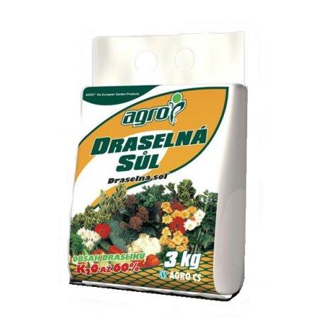 Draselná sůl 3kg