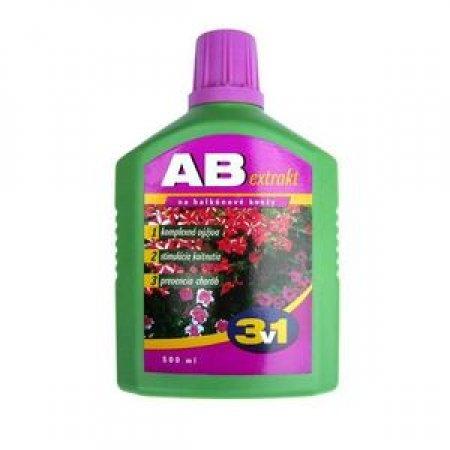 AB Extract 3v1 balkonové květiny 500ml