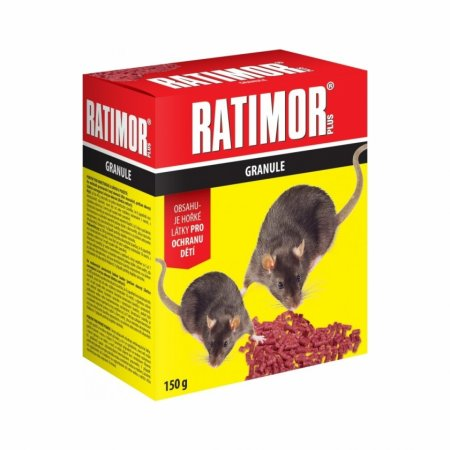 Ratimor Plus granule 150g