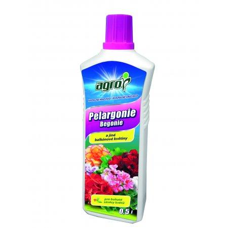 Agro hnojivo pro balkonové květiny 1l