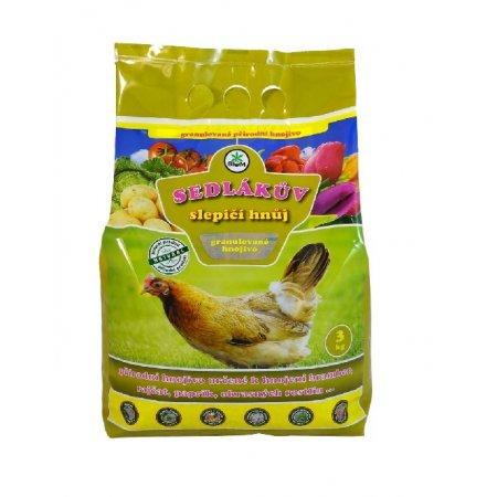 Sedlákův slepičí hnůj 3kg