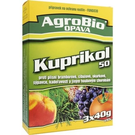Kuprikol 50 3x40g