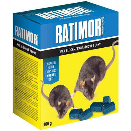 Ratimor parafinové bloky 300g