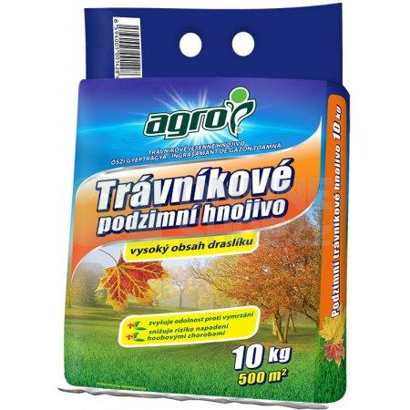 AGRO Trávníkové hnojivo Podzim pytel 10kg