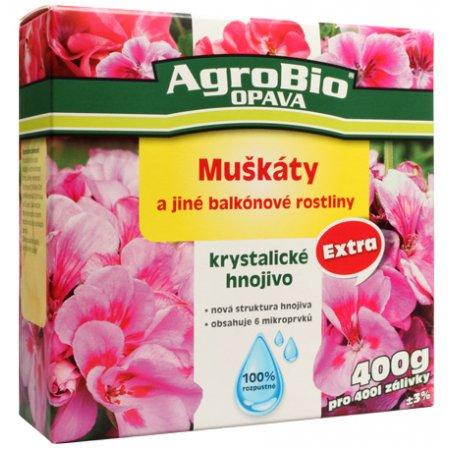Krystalické hnojivo Extra Muškáty 400g